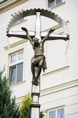 Big crucifixion of Jesus Christ