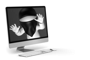 Hacker im PC