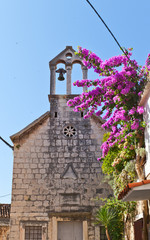 St Nicholas church (1594). Trogir, Chiovo, Croatia