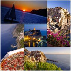 Cinque Terre villages of Italy coast
