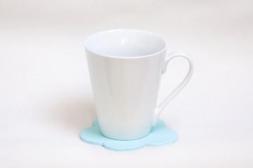 Tasse et sous-tasse nuage