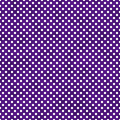 Dark Purple and White Small Polka Dots Pattern Repeat Background