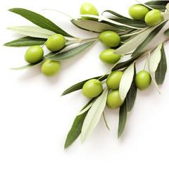 olives isolated © KMNPhoto