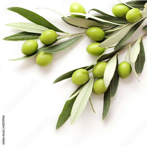 olives isolated - 68519966