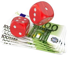 Geldscheine Spielwürfel