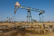 Oil derrick ,petroleum field, Azerbaijan, Baku, Absheron - 68520935