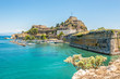 Leinwanddruck Bild - The Old Fortress of Corfu