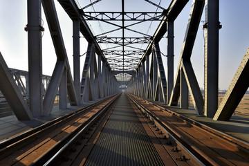 Kolejowy most kratownicowy