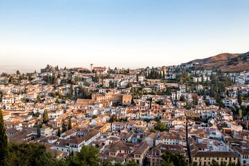 Albaicín desde la Alhambra de Granada