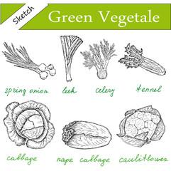 greens set