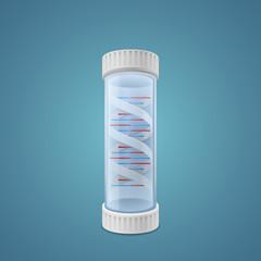 DNA in capsule