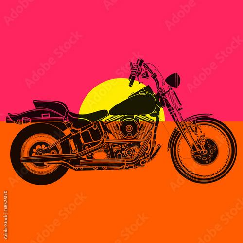 Fototapeta Moto sportster
