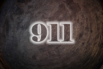 911 text on Background