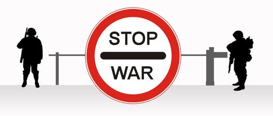 Stop, war.