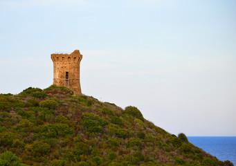 Torre sul mare a Fautea Corsica