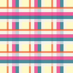 colorful urban plaid pattern