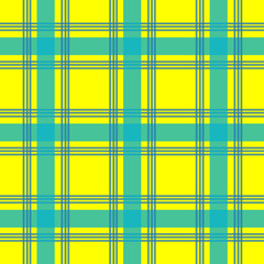 yellow color urban plaid pattern