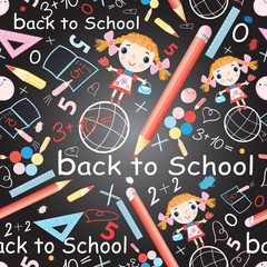 pattern of school subjects and girls