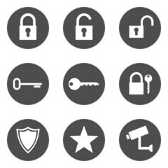 Security Icons Sicherheit