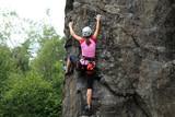 Girl Rock Climber