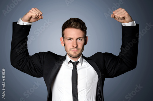 Strong Businessman