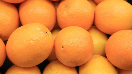 Lots of oranges for sale