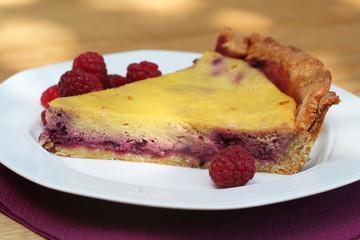 cheesecake ai lamponi e vaniglia_ torta