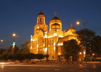 Кафедральный собор в г. Варна (Болгария)
