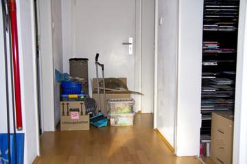 Wohnungsaufgabe