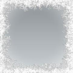 Vector Frozen Background