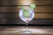 gin tonic with cucumber - 68534321