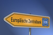 Wegweiser, Europäische Zentralbank