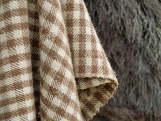 tissus traditionnel écossais