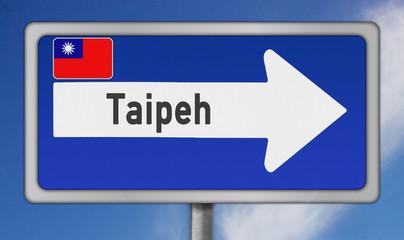 Metropole Taipeh, Republik China