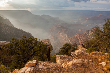 Gran Canyon from grandview viewpoint