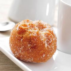bunuelo de viento, typical pastry of Spain