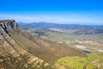 Orduna valley, Basque Country (Spain)