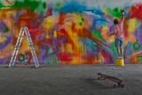 Fototapety grafitti artist