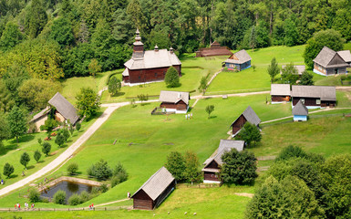 folk architecture, Slovakia, Europe