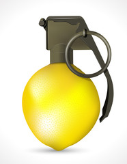 Grenade - Lemon explosion