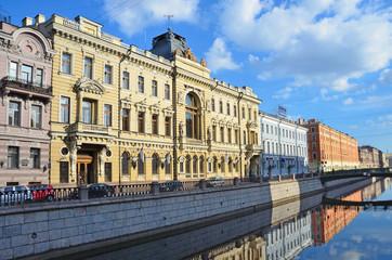 Санкт-Петербург, здание первого общества взаимного кредита