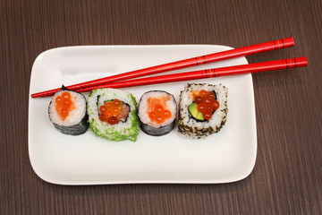 Plate sushi