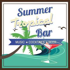 iconos para bar, disco y fiestas en la playa