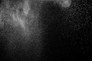 Abstract water spray