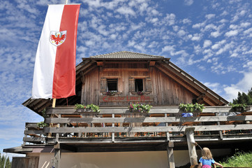 Dolomiti, Trentino Alto Adige, Obereggen,malga