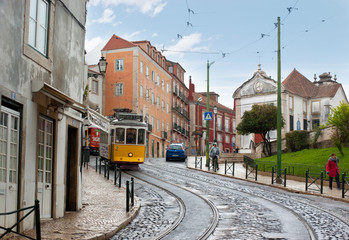 Walking in Lisbon