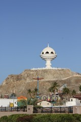 Incense burner on the hill of  Muscat, Oman
