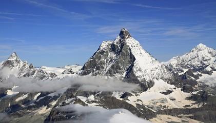 Near the Matterhorn in the Swiss Alps