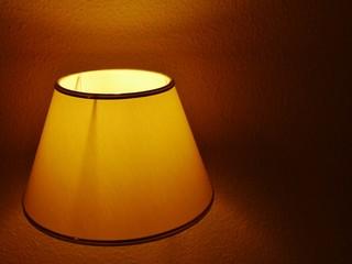 Lampenschirm zu Hause