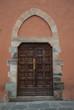 Portone ingresso vecchia casa signorile, Pisa